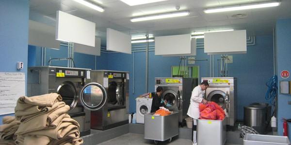 Atelier blanchisserie de l'ESAT AVENIR